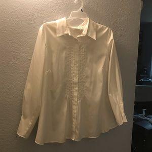 Coldwater creek tuxedo shirt 3X
